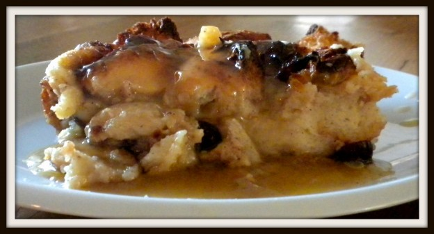 bread pudding whiskey sauce