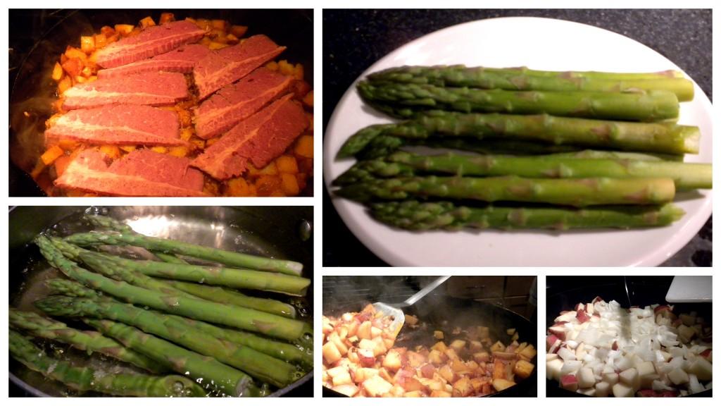 corned beef asparagus