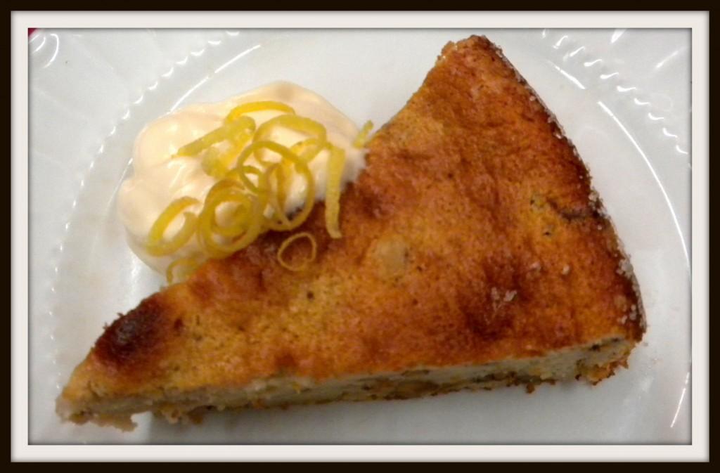walnut chiffon cake