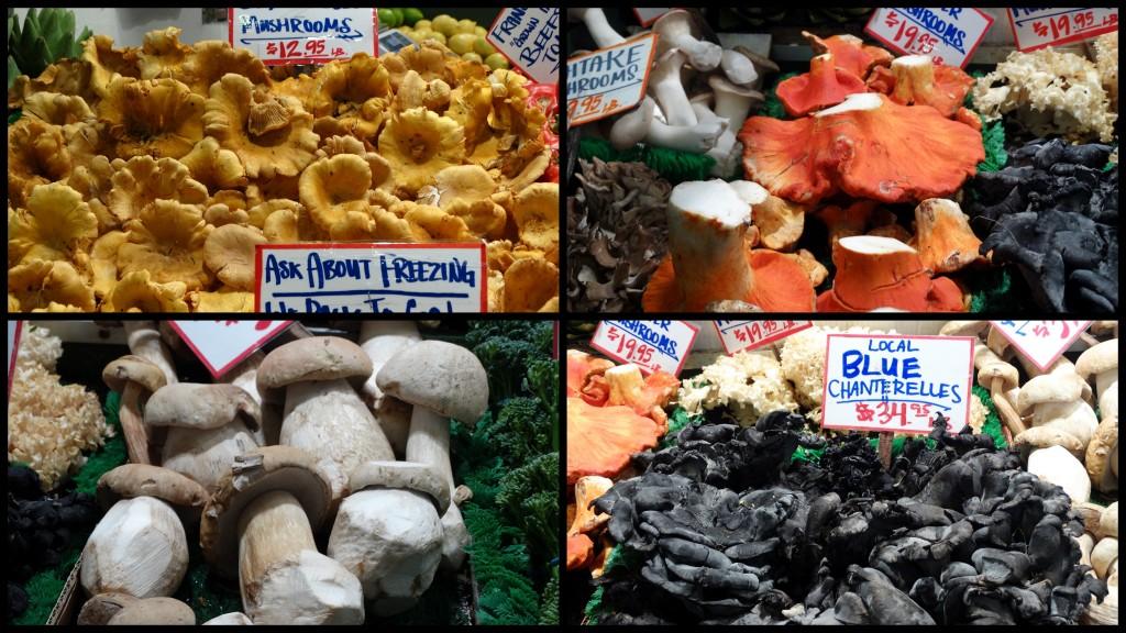 101914 pikes mkt mushrooms
